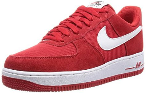 air force 1 uomo bianche e rosse