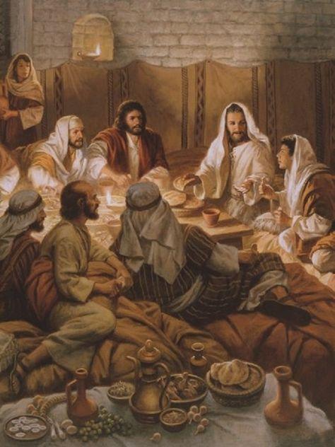 Évangile du jour avec Luisa Picaretta et Maria Valtorta D0328b7c3de701c2c590b9f5ecac1f99--suppers-bible-art