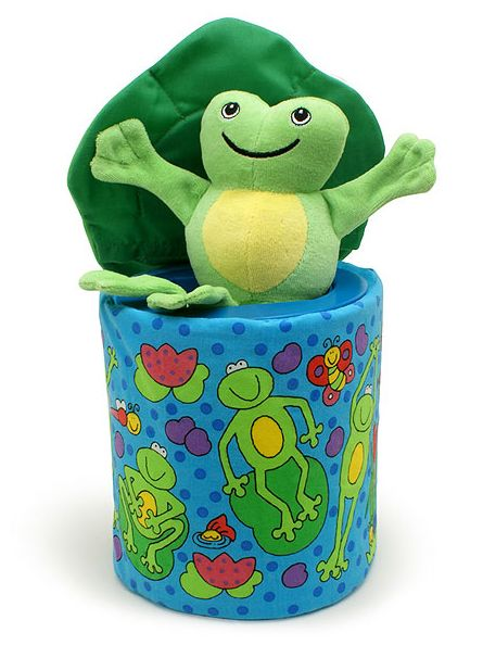 Frog in a Box is a soft fun version of the classic jack-in-a-box toy with a difference - lift the lid and the frog jumps right out of the box!  sc 1 st  Pinterest & Frog in a Box is a soft fun version of the classic jack-in-a-box ... Aboutintivar.Com