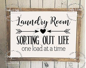 Wooden Signs Etsy Laundry Room Decor Signs Wooden Signs Diy