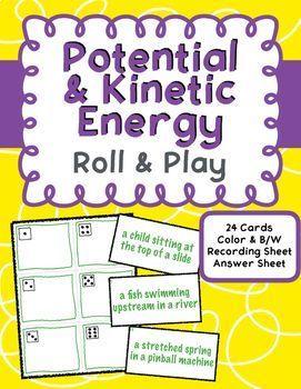 Potential And Kinetic Energy Mini Unit Kinetic Energy Kinetic Energy Lesson Science Worksheets