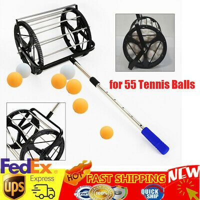 Tennis Ball Picker Hopper Retriever Mower Collector Ball In 2020 Tennis Tennis Ball The Collector