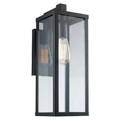 اشكال السور الخارجي للفيلا في دبي Outdoor Wall Lantern Bel Air Lighting Black Outdoor Wall Lights