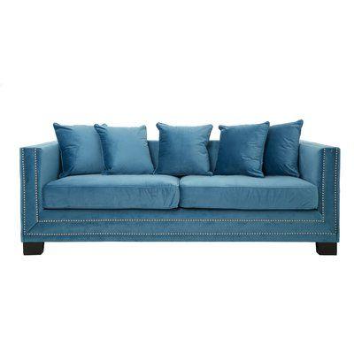Zweiersofa Aeliana In 2020 Sofa Blue Furniture Velvet Sofa