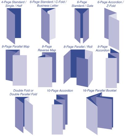 Best Fold Techniques Brochure Images On   Brochures