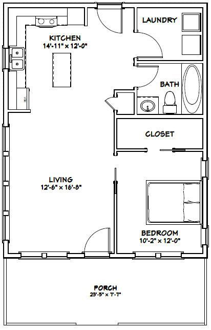 Me Merge Bathroom And Laundry Remove Bathroom Door Extend External Cupboard Seal And Open Int Tiny House Plans 1 Bedroom House Plans Tiny House Floor Plans