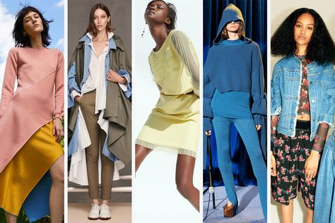 11 Standout Trends From the Resort 2018 Collections. From bell bottoms to citrus colors, take a look at what you'll be seeing in stores starting November.
