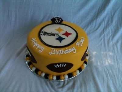 Steelers By michele8302 on CakeCentral.com