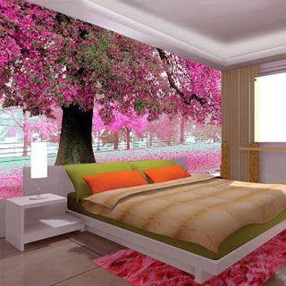 Model Wallpaper Dinding 3d