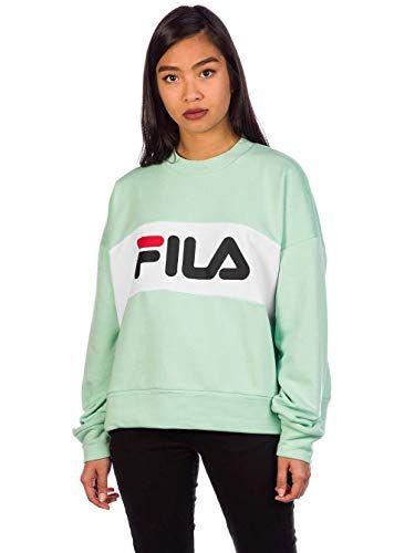 Fila Damen Pullover Leah grün M | Pullover & Strickjacken für Damen ...