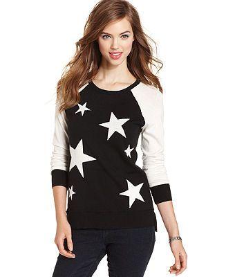 kensie Star Sweater