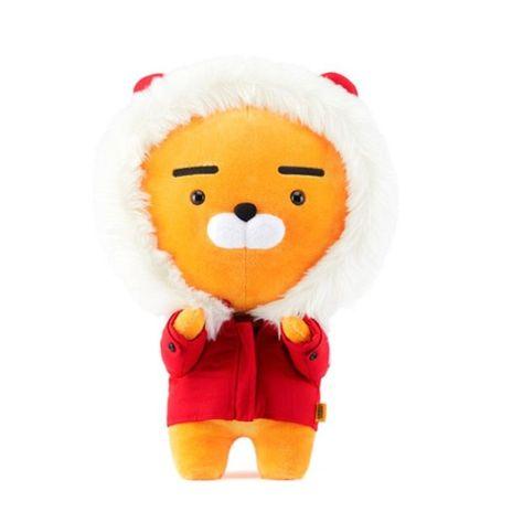 "Plush doll RYAN APEACH TUBE 28cm Rainbow Little Friends 11/"" KAKAO FRIENDS"