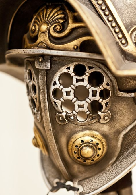 Gladiator Helmet Replica Ancient Gladiator by BirdArtBulgaria