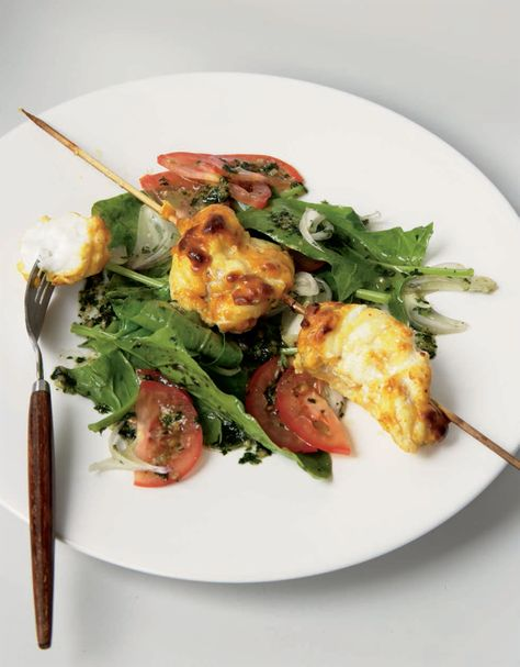 Tandoori Monkfish Recipe From Indian Food Made Easy By Anjum