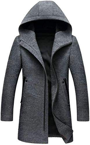 Cromoncent Mens Sports Long-Sleeve Hooded Zip Jacket Sweatshirts