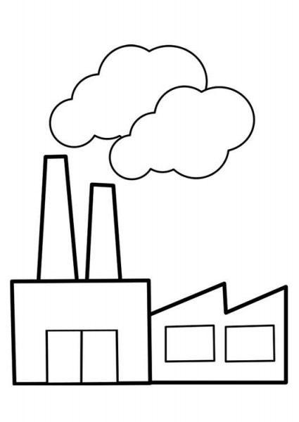 Fabricas Dibujos Para Colorear Dibujos Para Colorear Paginas Para Colorear Imagenes De Reciclaje