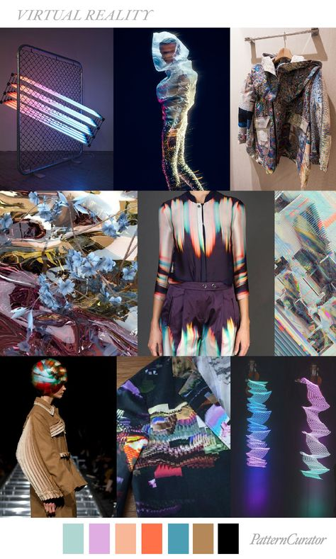 S/S 2018 print & colors trends: virtual reality