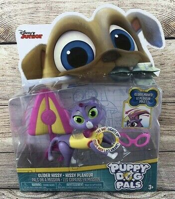 Disney Junior Puppy Dog Pals Hang Glider Hissy Cat Light Up Action Figure New Ebay Dogs And Puppies Disney Junior Gliders