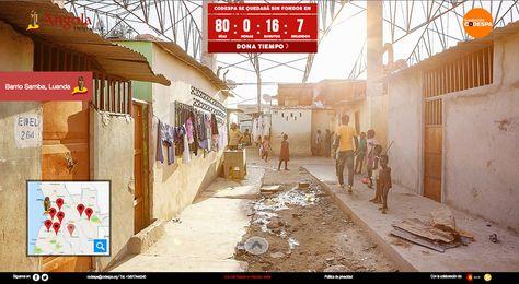 Territorio Creativo España desarrolla un Street View en Angola que no aparece en Google Maps
