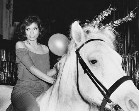 Rarely Seen Photos of the Gorgeous Bianca Jagger - Rare and Fabulous Photos of Bianca Jagger - Photos