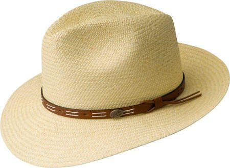 URSFUR Mens Mink Fur Fedora Hat