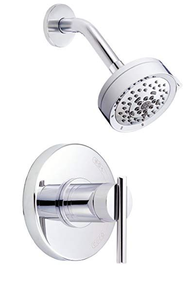 Danze D510558t Parma Single Handle Shower Trim Kit 2 5 Gpm Valve