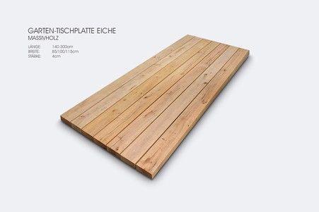 Tischplatte Tischplatten Auf Mass Tischfabrik24 Tischplatten Eiche Massivholz Tischplatte