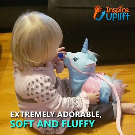 In the world of unicorn toys, this Magic Walking & Singing Unicorn is one of our favorites! He enjoys going on walks so much that he sings when you take him out. It's like having your very own Unicorn Pet!  Currently 50% OFF with FREE Shipping!