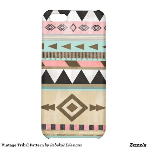 Vintage Tribal Pattern iPhone 5C Covers