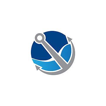 المرساة شعار Telegram Logo Anchor Logo Company Logo