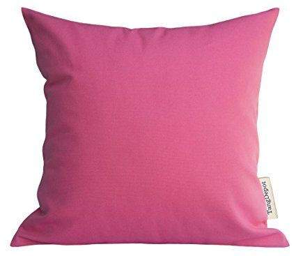 TangDepot Cotton Solid Throw Pillow