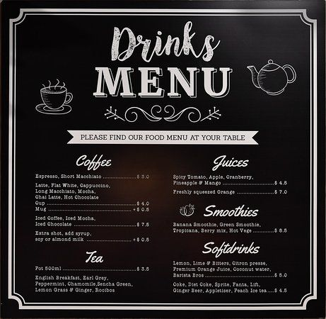 Cafe Drink Menu Google Search Drink Menu Classic Cocktail Recipes Menu