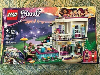 NISB 41135 LEGO Friends Livi/'s Pop Star House