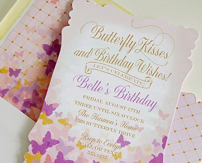 Personalized Invitation Set Twinkle Little Star Collection by Loralee Lewis