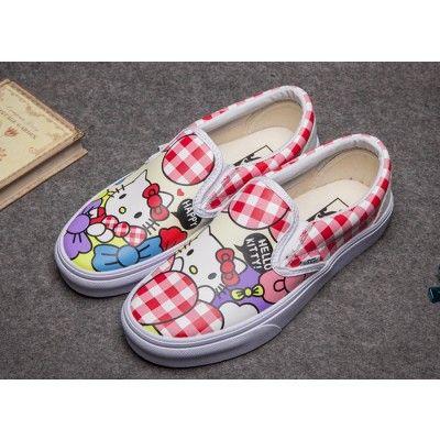 Vans Hello Kitty Checkerboard Slip On