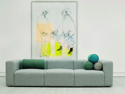 Mags Soft 3 Sitzer Sofa Hay | Huset | Pinterest | Hay Design And Interiors