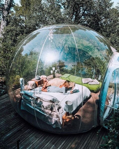 Bubble Tree, Bubble House, Garden Igloo, Cabin In The Woods, Dome Tent, Sleeping Under The Stars, Dome House, Outdoor Living, Outdoor Decor