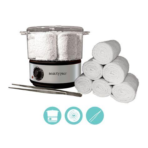 BeautyPro Ltd - BEAUTYPRO Hot Towel Steamer (Portable) KIT, £69.00 (http://www.beautypro.com/beautypro-hot-towel-steamer-portable-kit-1/)