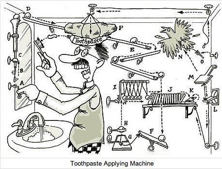 Image result for rube goldberg cartoon worksheet   Science ...