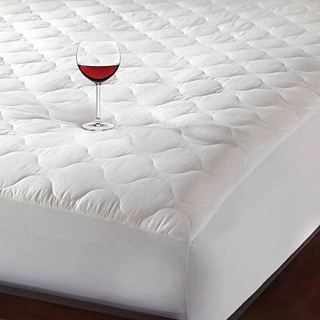 Hotel Laundry Set Of 2 Triple Protection Waterproof Mattress Pad Mattress Pad Waterproof Mattress Waterproof Mattress Pad