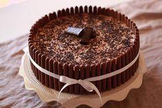 Torta de chocolate con Mousse de Nutella.