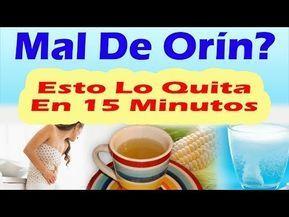 Como Curar El Mal De Orín Rápido Con Remedios Caseros Naturales Para La Infección Urinaria Youtube Remedios Caseros Naturales Remedios Caseros Urinarios