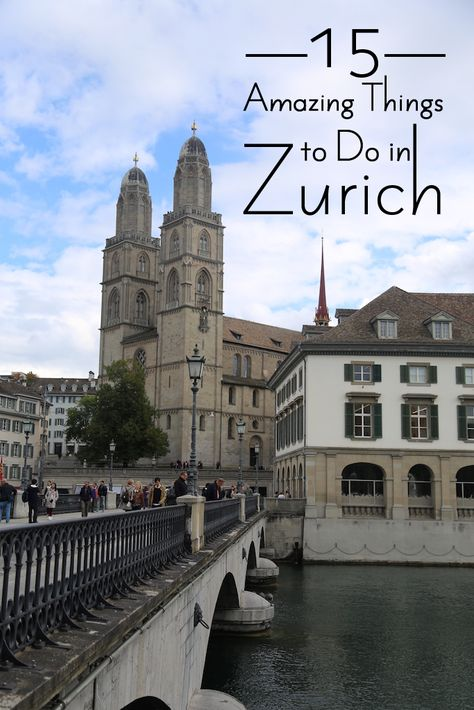 """If you aren't immediately sold on Zurich just by its quaint cobbled streets of the Old Town (Altstadt), then head over to the trendy Kreis 5 district or take a boat ride on the picturesque lake. The """"things to do"""" in this Swiss"""