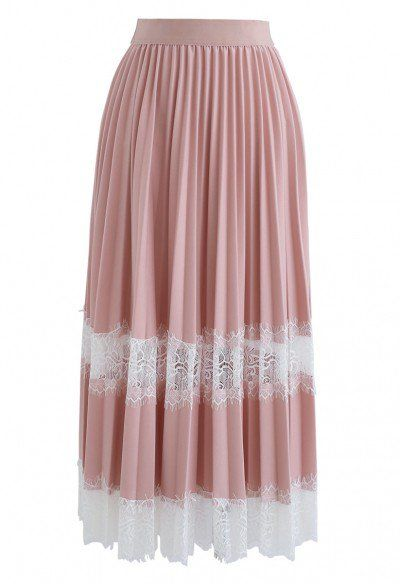 Twinkling Stars Mesh Skirt in Pink - NEW ARRIVALS - Retro, Indie and Unique Fashion