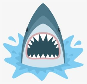 A Illustration Of The Shark From Jaws The Movie Shark Mouth Open Drawing Hd Png Download Shark Mouth Open Shark Mouth Shark