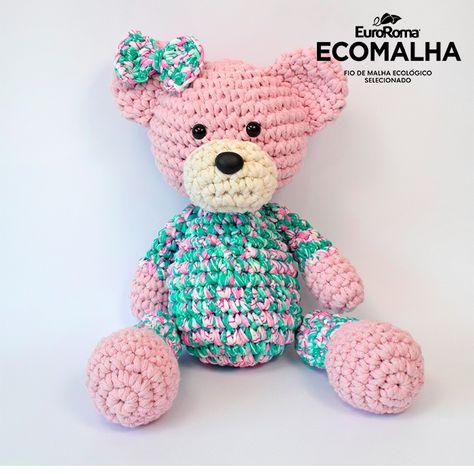 Amigurumi - Urso Soneca - Encantari | 474x474