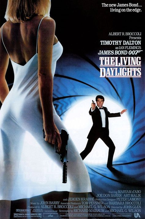 The Living Daylights - Not the greatest of Bond films, nor the greatest Bond either, more Johny English than James Bond