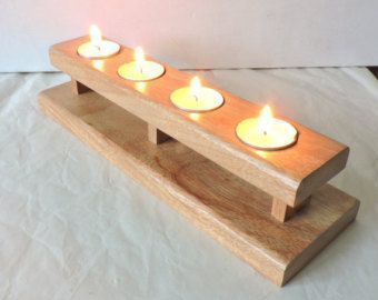 Image Result For Home Made Wooden Candle Holders Wooden Candle Holders Candle Holder Decor Wooden Candles