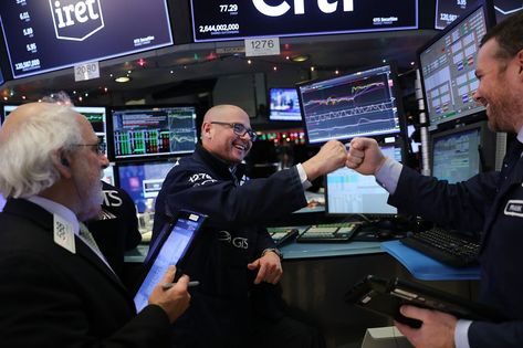 Stock Markets Wrap Up Best Year Since  As Investors Shrug Off