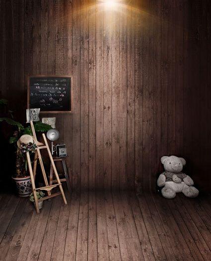 جديد Photografia الجذوع الخشبية التصوير الدعائم صور خلفية القماش التصوير الخلفيات للأطفال خلفية الصور Wall Paneling Backdrops Backgrounds Photography Backdrops